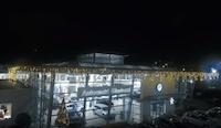 installazione luminarie natalizie presso Autocentri Giustozzi - Perugia (PG)