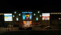 installazione luminarie natalizie presso Centro Commerciale Gherlinda - Ellera di Corciano (PG)